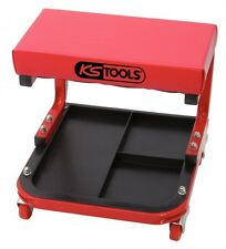 KS Tools Werkstatt Hocker Sitz Rollhocker fahrbar mit Ablage Werkzeug   500.8020