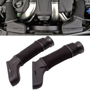 Pair Left&Right Side Air Intake Duct Hose For Mercedes-Benz W204 W212 C300 C350