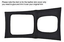 BLACK STITCH AUTO GEAR SURROUND SKIN COVER FITS MERCEDES C CLASS W203 01-07