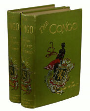 The Congo by HENRY M. STANLEY ~ First Edition 1885 ~ Near Fine Set Africa 1st
