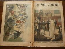 PETIT JOURNAL- 1897  N° 323 - musulman député / BENIN / SEVRES accident tramway