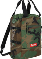 SUPREME TOTE BACKPACK SS19 WEEK 9 WOODLAND CAMO (IN HAND) AUTHENTIC FAST SHIP**