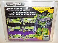 1985 Transformers G1 **DEVASTATOR GIFTSET** MISB Sealed (B75/W85/F85) AFA 75+