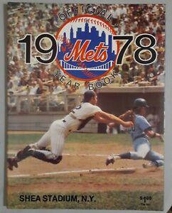 1978 NEW YORK METS YEARBOOK
