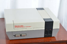Nintendo Entertainment System Deluxe Gray Console NES-001 Tested & Working