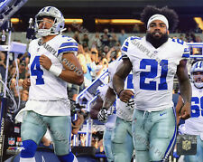 29aecf0d6d1 Ezekiel Elliott & Dak Prescott Dallas Cowboys 2018 Authentic 8x10 Photo