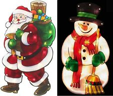 20 LED Lights Window Decoration Silhouette Battery Operated Xmas Christmas Gift