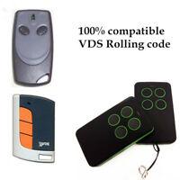 VDS ECO-R, VDS TRQ P Compatible Remote Control Rolling code 433.92MHz.