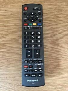 Genuine Panasonic N2QAYB000487 TV Remote Control TX-P42G10B, TX-P42S21B & more