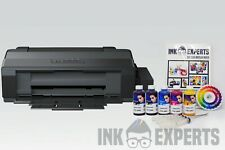A3 Sublimation Printer Bundle: EPSON ET-14000 + 5 x 100ml Ink + Paper - None OEM
