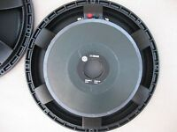 "2 RCF  L15S830  15""  Chassis  Lautsprecher Hifi  PA  Bass"