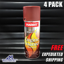 RED Oxide PRIMER Harris Heat Resistant Engine Enamel Motor Engine Spray Paint