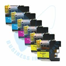 6 CLR New LC 203XL 203 Ink Cartridges For Brother J4620DW J480DW J5720DW J885DW