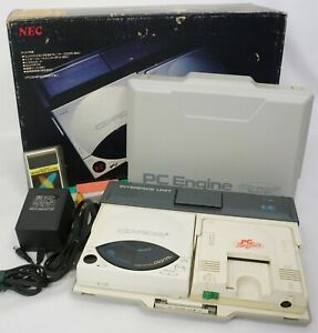 PC Engine CD ROM System Console Interface Unit IFU-30A Modified Boxed 13093546G