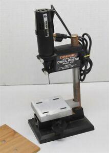 Dremel Moto-Tool 210 DRILL PRESS w/ Montgomery Ward Powr Kraft Rotary Drill
