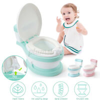 Kid Toilet Training Baby Child Toddler Potty Trainer Seat Chair Portable