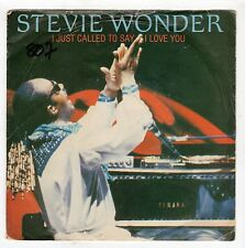 (HG404) Stevie Wonder, I Just Called To Say I Love You - 1984 - 7 inch vinyl