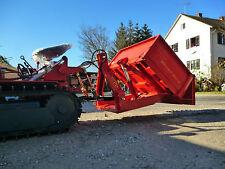Heckmulde 120/80 cm, Iseki, Kleintraktor, Kubota, Schmalspurschlepper - Allesch
