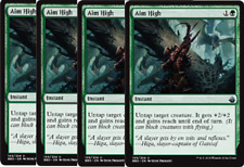 4x Aim High   -NM- Battlebond MTG Green Uncommon