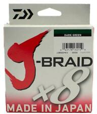 "Daiwa J-Braid Braided WHITE Line 80lb 330yd .017/"" .43mm JB8U80-300WH"