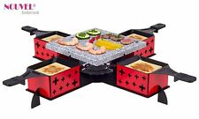 "Raclette/Hot Stone Set  Nouvel Swiss ""Party"" überall Einsetzbar *Aktion UVP-50%"