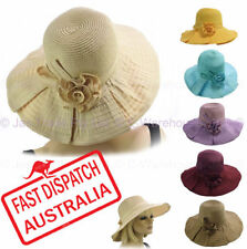 Polyester Wide Brim Hats for Women