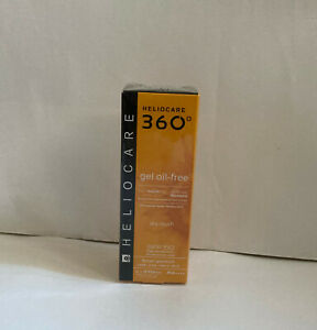 Heliocare 360° Gel Oil-Free Dry Touch SPF 50 1.7 fl oz/50 ml (Exp: 10/2021)