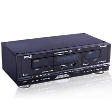 Suono intorno Pyle Home Digitale Sintonizzatore Dual Piastra a Cassette