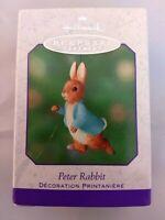 2001 Hallmark Keepsake Ornament - Peter Rabbit - Easter Spring Decoration