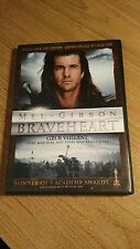 BRAVEHEART  ( 2 Disc DVD, 2007  Special Collectors Edition) ~ English &  French
