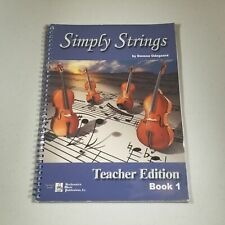 Simply Strings Book 1 Teachers Edition