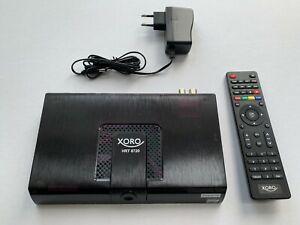 Xoro HRT 8720 HEVC DVB-T2 Receiver - Schwarz, kaum benutzt, Top Zustand