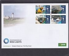 Ireland 2016 Commissioners of Irish Lights Lighthouses First Day Cover FDC