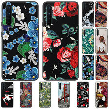 For OnePlus Nord 8 7T Pro Case Retro Painted Shockproof Soft Silicone TPU Cover
