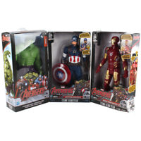 Avengers Titan Hero Series Iron Man Captain America Hulk Action Figure Model Toy