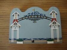 Ocean City Md Cat's Meow Boardwalk Arch 2000 Shelf Sitter Cats