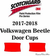 3M Scotchgard Paint Protection Film Pro Series Clear 2017 2018 Volkswagen Beetle