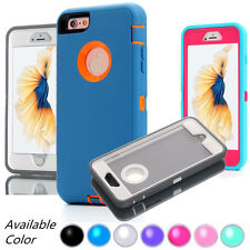 Protective Hybrid Shockproof Hard Armor Case Cover For Phone 7 8 Plus XS MAX XR