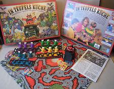 Schmid Spiele Brettspiel Board Game IN TEUFELS KÜCHE 2-4 Spieler 1993