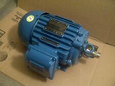 WEG 00218ET3ECT145TF1-W2 CT Motor, 2 HP, 1750 RPM, 208-230-460 V NEW!