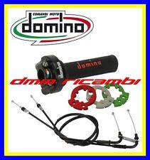 Kit Comando Gas Rapido DOMINO XM2 SBK HONDA CBR 600 RR 07>16 con cavi 2007 2016
