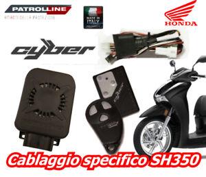 HPS 950 X HONDA SH 350 2021 ANTIFURTO ELETTRONICO ANTIRAPINA PATROLLINE