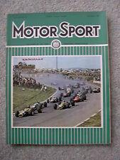Motor Sport (Nov 1967) Rover P5, US Grand Prix, Austin 1800 Crayford, Opel, MGB