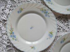 Lot 4 assiettes PLATES  ARCOPAL VINTAGE