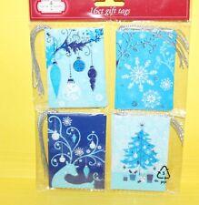 Christmas Holiday Gift Tags 16 Count Snowflake Deer Tree Ornament Sb10-2