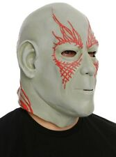 Marvel Drax Guardians Of The Galaxy 100% Latex Mask Costume Cosplay