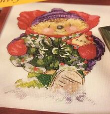 """Country Companions Cross Stitch Chart: """"A Present Just For You"""""""