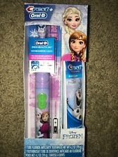 Oral-B + Crest Disney's Frozen Kids Pack Toothpaste and Battery Toothbrush 5/21