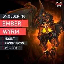 Smoldering Ember Wyrm Nightbane Mount One Night In Karazhan achievement WoW