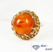 Anelli di lusso con gemme naturale in oro giallo misura anello 15